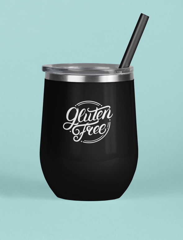 Labeled Wine Tumbler