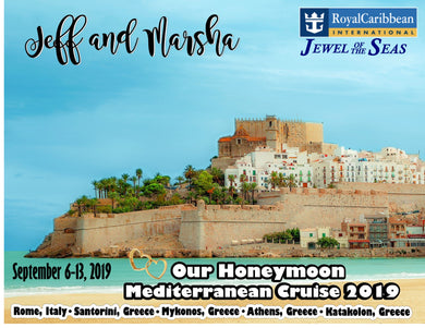 mediterranean cruise magnet royal caribbean carnival honeymoon