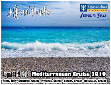 mediterranean beach cruise magnet royal caribbean carnival honeymoon