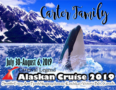 close up orca whale alaska cruise stateroom door magnet with glacier