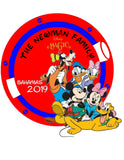 family or friend cruise magnet porthole round disney