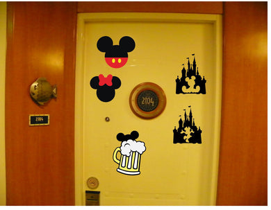 cruise door small disney magnet fish extenders