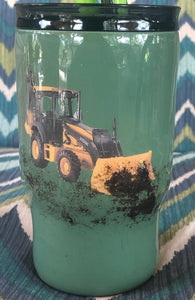tonka truck with real dirt digger with name kids cup
