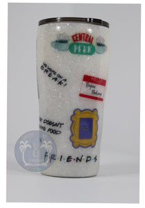 friends tv show central perk tumbler