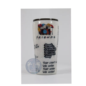 friends tv show glitter collage funny tumbler monica chandler pheobe rachel ross joey
