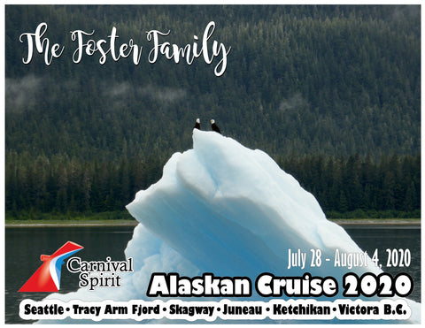 small glacier iceberg alaska cruise door magnet decoration