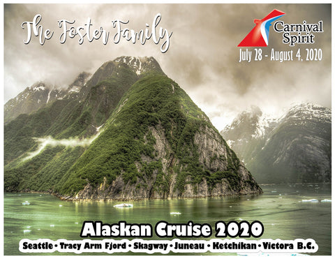 tracy arm fjord glacier alaska cruise door magnet decoration