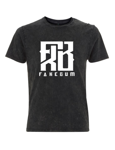 FKB Logo Acid Black - FakeBum Clothing