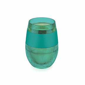 Host 7422 Insulated Plastic Glass Cooling Cup, One Size, Green