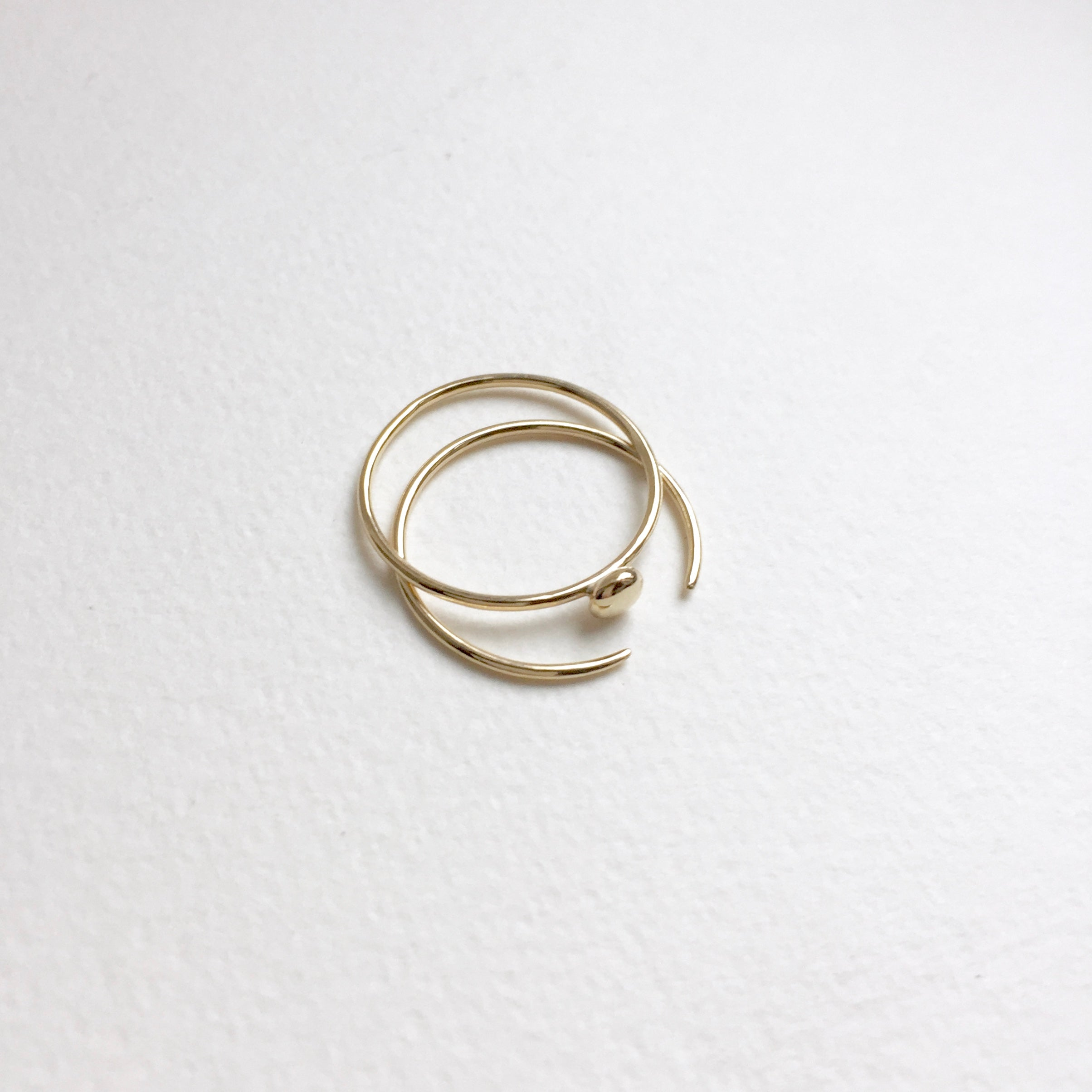 Gold Grain Ring