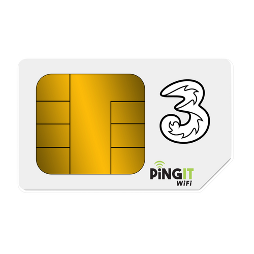 Three Data only sim package