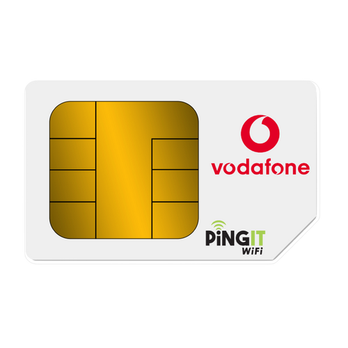Vodafone Data only sim package