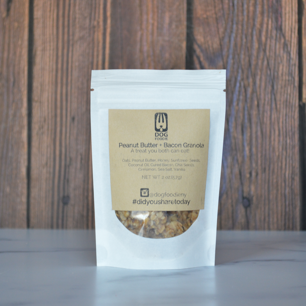 Peanut Butter & Bacon Granola 2 ounce