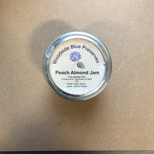 Peach Almond Jam 4oz