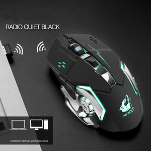 Free Wolf X8 Wireless Charging Game Mouse