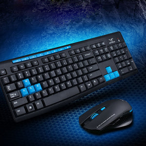 2.4G Wireless Gaming Keyboard + Mouse Set