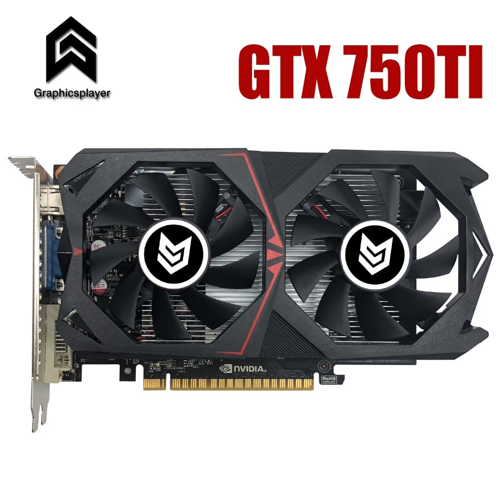 Graphic Card PCI-E 16X GTX750TI GPU