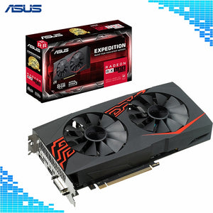 Asus EX-RX580 2048SP-8G Graphics Card