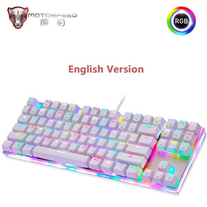 Original Motospeed K87S Gaming Mechanical Keyboard