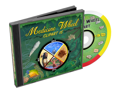 Medicine Wheel Clip Art Collection