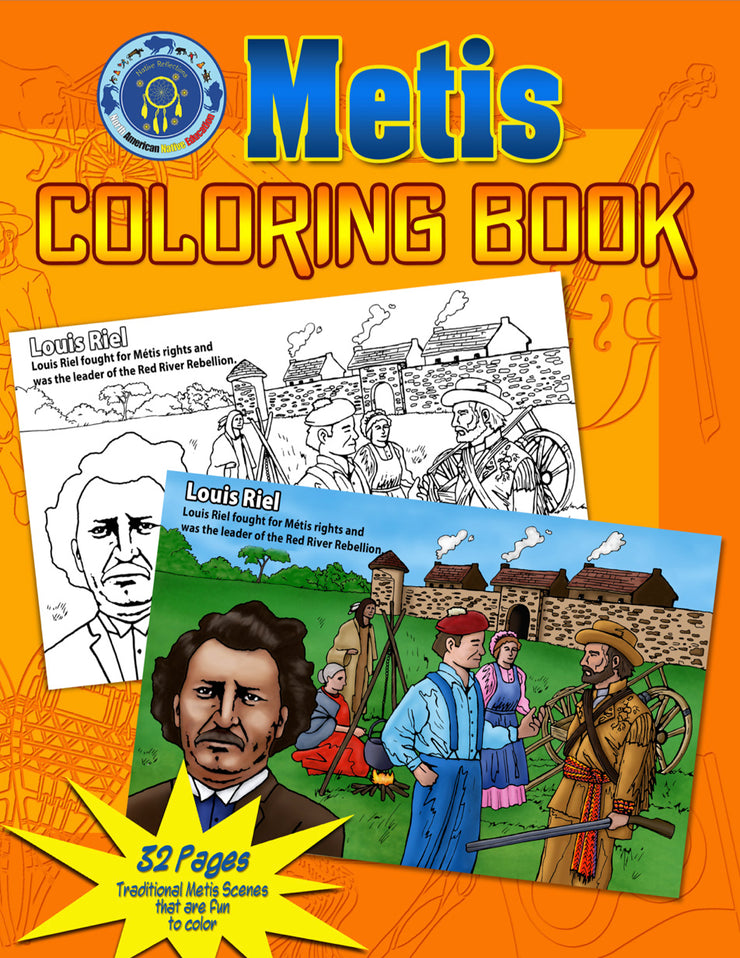 Metis Coloring Book
