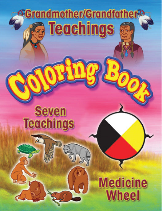 Seven Teachings Coloring Book