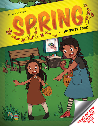 Little Sister Activity Book (Spring)