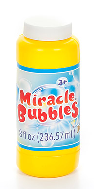 Bubbles With Miracle Wands