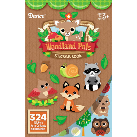 Sticker Book - Woodland Critters And Pals