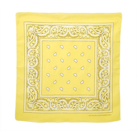 Bandana - YellowPaisley