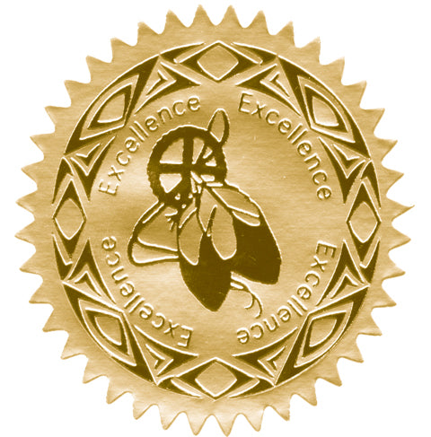 Embossed Award Labels