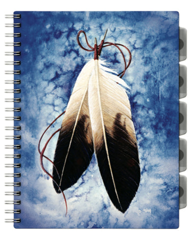 Tabbed Scribbler (Feather)
