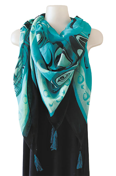 Tapestry Scarf - Butterflies