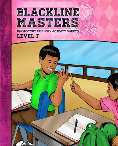 Blackline Master Book for Level F