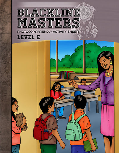 Blackline Master Book For Level H