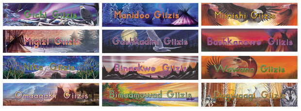 Months of the Year in Ojibwe