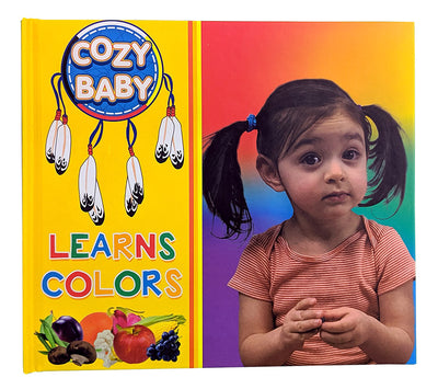 Cozy Baby Learns Colors