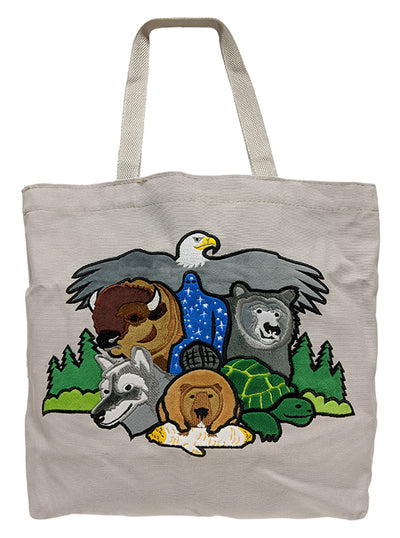 Seven Teachings Tote Bag