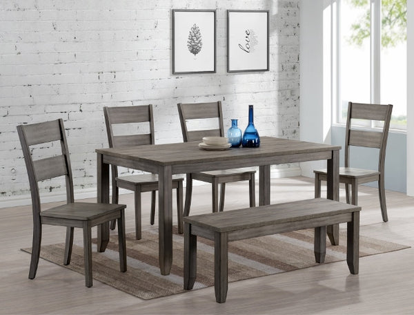 Sean Gray Melamine Dining Room Set