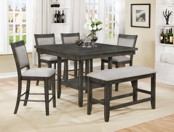 Fulton Gray Counter Height Set
