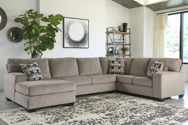 Ballinasloe Platinum LAF Sectional - Best Discount