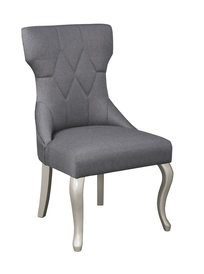 Coralayne Dark Gray Side Chair, Set of 2 - Best Discount
