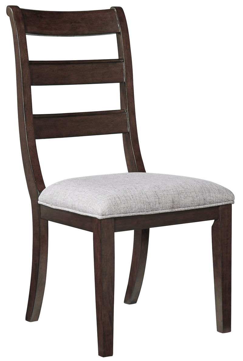Adinton Reddish Brown Side Chair, Set of 2 - Best Discount