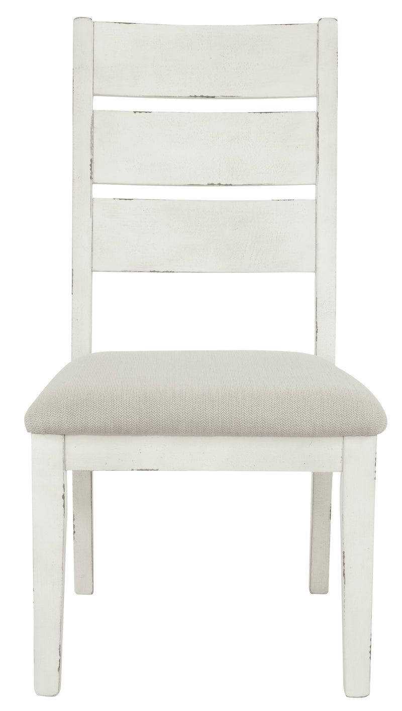 Grindleburg Antique White Side Chair, Set of 2 - Best Discount