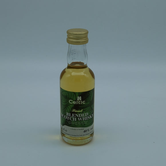 Celtic fc Whisky Miniature