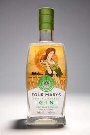 Linlithgow Distillery Four Marys Gin Zesty Sherbet, 50cl