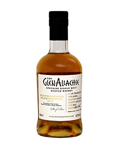 SIGNED GlenAllachie 12 Year Old Spirit of Speyside Whisky Festival Bottling