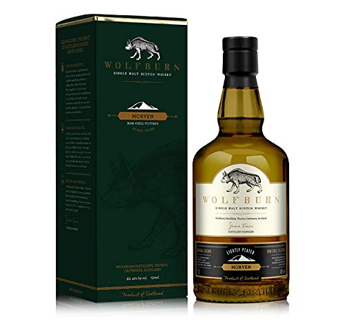 Wolfburn Morven Peated Single Malt Whisky