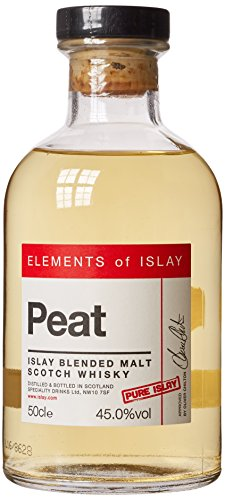 Elements of Islay Peat Whisky, 50 cl 45% vol