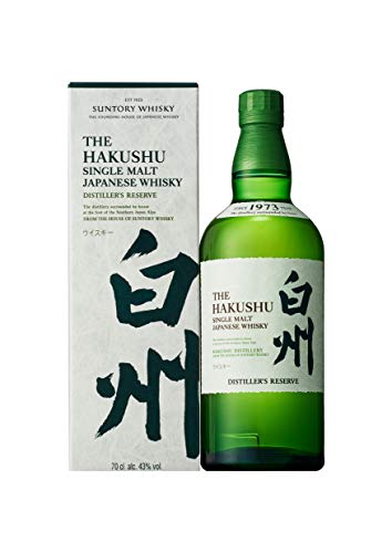 Suntory Hakushu Reserve Single Malt Whisky, 70 cl